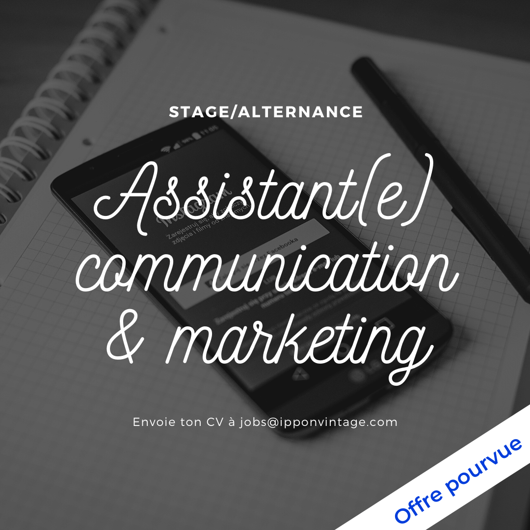 Offre d'emploi assistant communication et marketing nantes